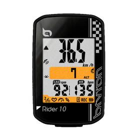 Bryton Rider 10 C Fahrradcomputer + Trittfrequenz schwarz